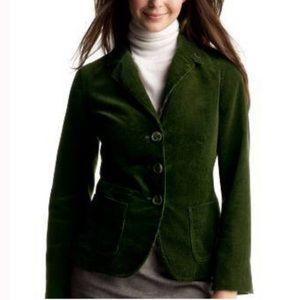 GAP Green Corduroy Blazer